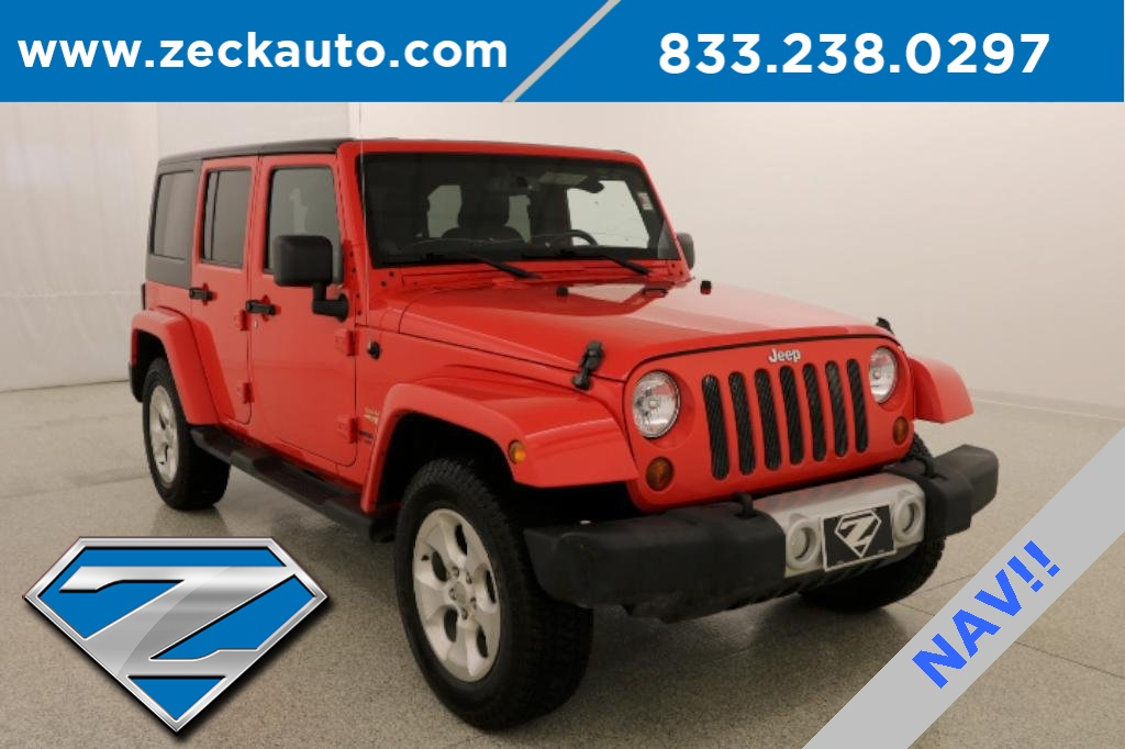 Pre Owned 2013 Jeep Wrangler Unlimited Sahara