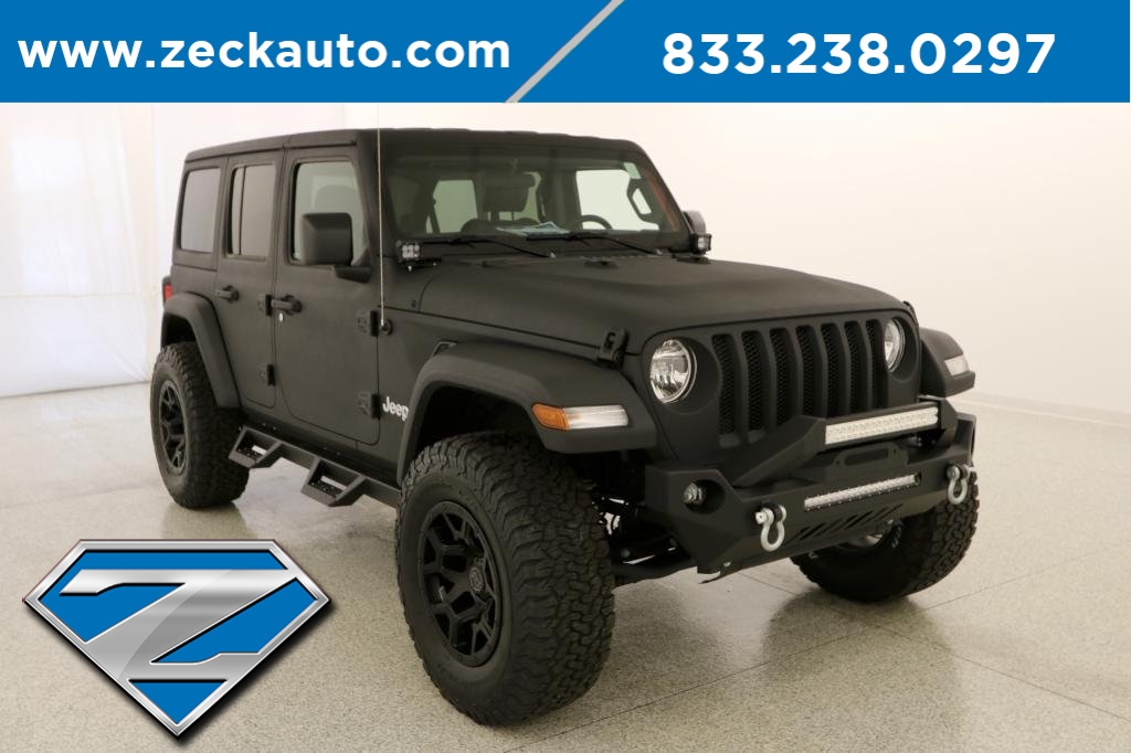 Pre Owned 2018 Jeep Wrangler Unlimited Sport