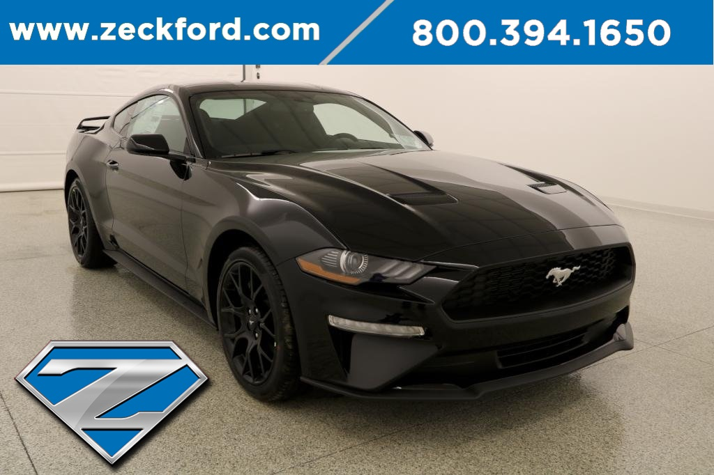 Ford Mustang Ecoboost >> New 2019 Ford Mustang Ecoboost 2d Coupe In Leavenworth 19c285