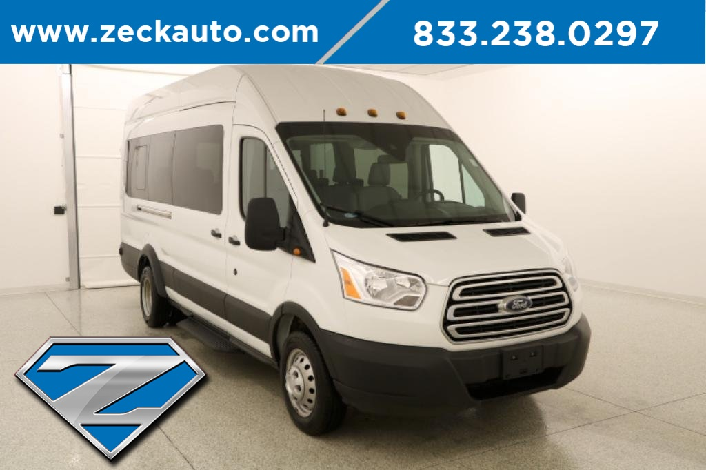 Pre-Owned 2019 Ford Transit-350 XLT HD Med Roof Dual Rear Wheels 3.5L Ecoboost