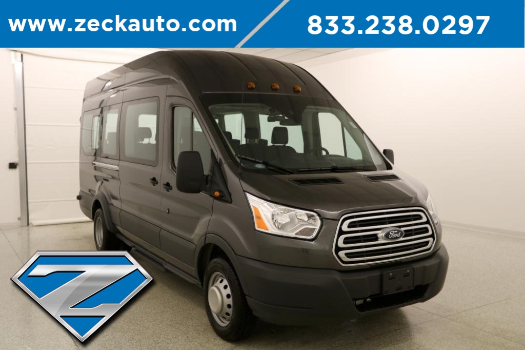 bea2da4766 Pre-Owned 2017 Ford Transit-350 XLT HD High Roof 15 Passenger Wagon ...