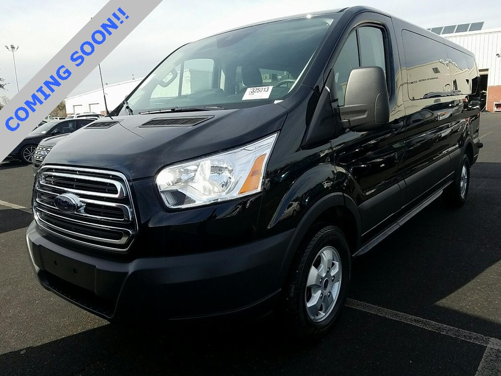 Pre owned 2018 ford transit 350 xlt low roof 15 passenger wagon