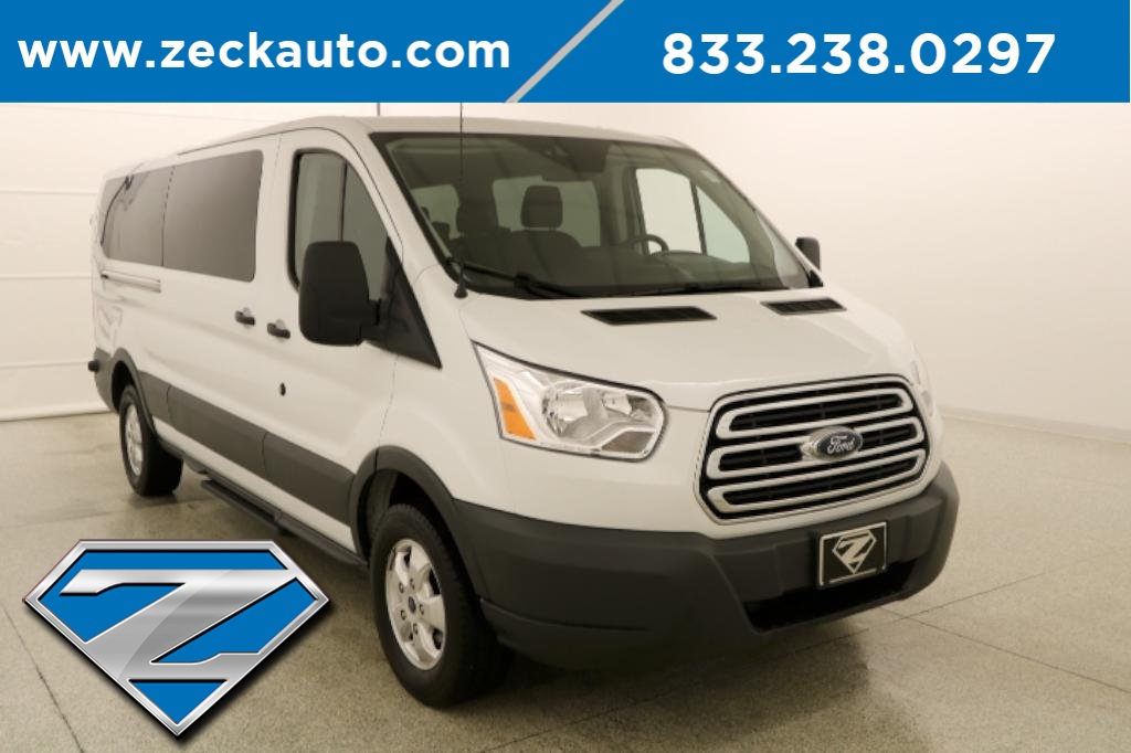Pre-Owned 2018 Ford Transit-350 XLT Low Roof 12 Passenger Wagon RWD 3D Low  Roof Wagon