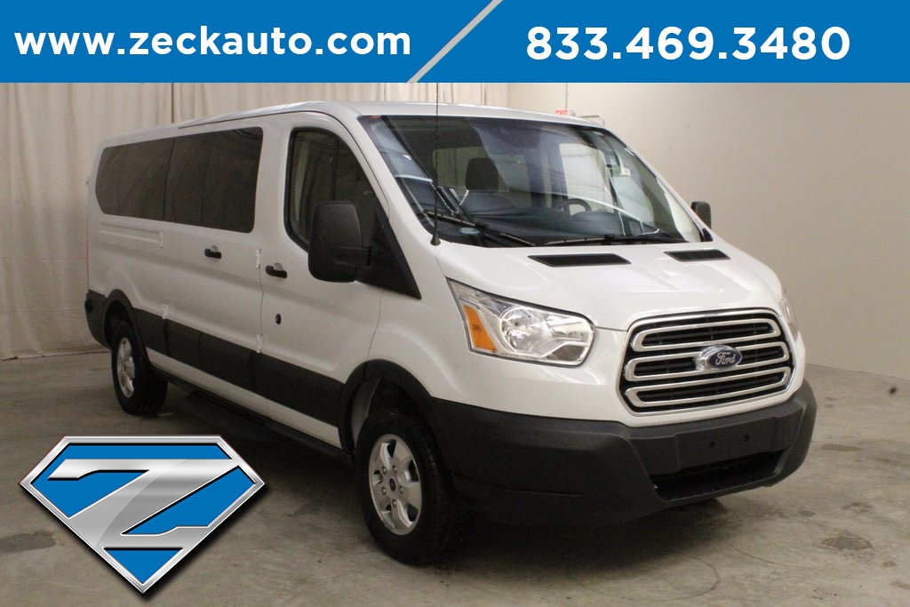 Pre-Owned 2019 Ford Transit-350 XLT Low Roof 15 Passenger Van