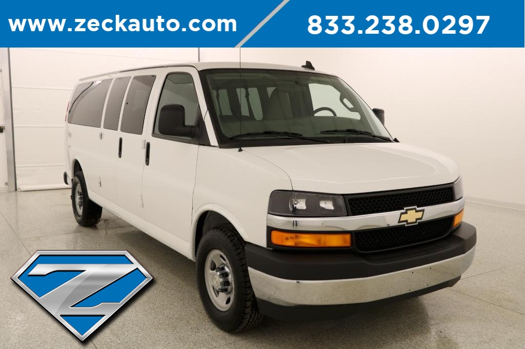 a9c586db42a28d Pre-Owned 2017 Chevrolet Express 3500 LT Extended Passenger Van in ...