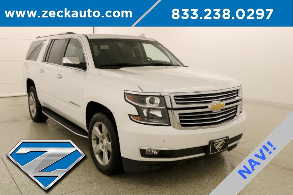 Pre Owned Suburban >> Pre Owned 2018 Chevrolet Suburban Premier With Navigation 4wd