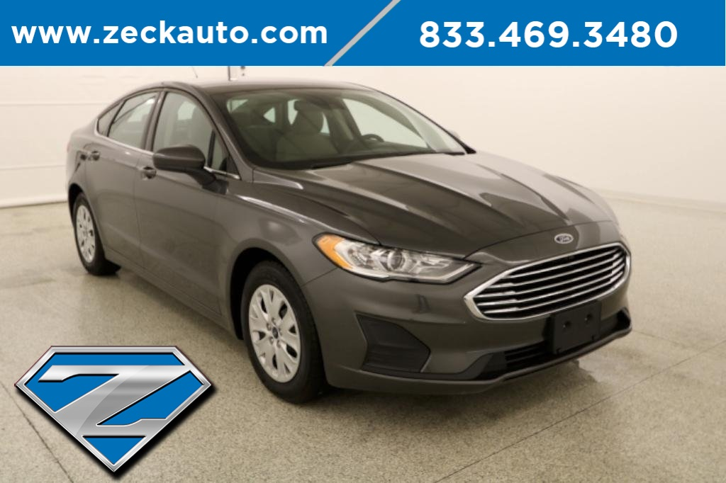 Pre-Owned 2019 Ford Fusion S