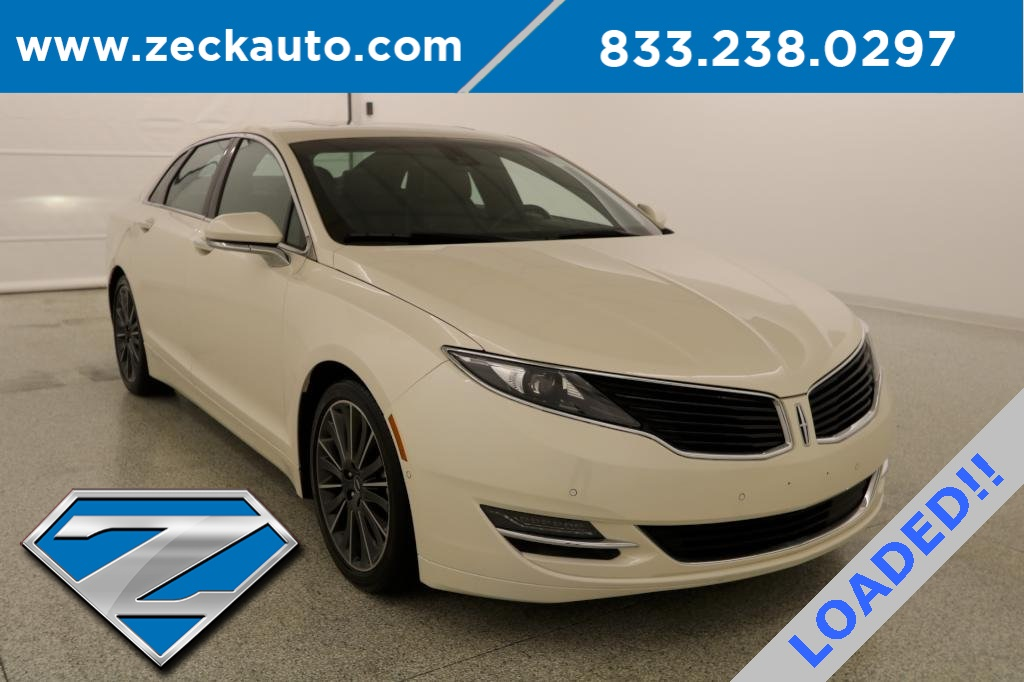 Pre Owned 2016 Lincoln Mkz Hybrid Black Label