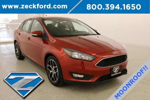 New 2018 Ford Focus SEL