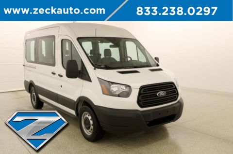 Pre-Owned 2019 Ford Transit-150 XL Medium Roof 8 Passenger Van
