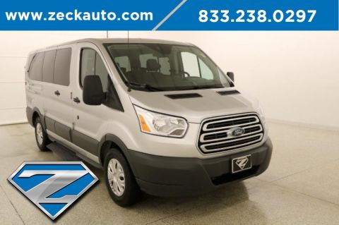 Pre-Owned 2018 Ford Transit-150 XLT Low Roof 8 Passenger Wagon