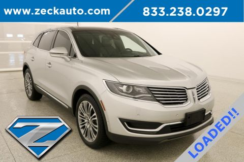 60465f5d02 Used 2016 Pre-Owned 2016 Lincoln MKX Reserve With Navigation. Stock     FA24437