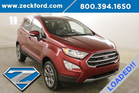 New 2018 Ford EcoSport Titanium